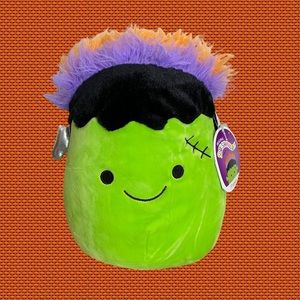 "Frankie Halloween 8"" Squishmallow NEW"